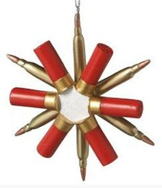 Shot Gun Shell Ornaments Country Christmas by DownInTheBoondocks ...
