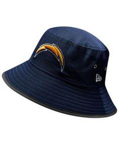 New Era Los Angeles Chargers Training Bucket Hat - Blue Adjustable Hat Men 9e4b94c3b