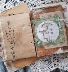 Trendy Art Journal Pages Ideas Altered Books Art Journal Pages, Junk Journal, Garden Journal, Nature Journal, Journal Sample, Bullet Journal, Kunstjournal Inspiration, Art Journal Inspiration, Journal Ideas