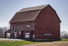 This barn is located in Champaign County, Ohio.