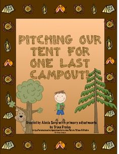 Finish your year off with learning and fun! This camp themed week long unit is a great way to end your year. This unit was originally created by Alexis Sergi and was modified (with permission) to meet the needs of younger children. This unit is filled with activities for each subject. There is a reader's theater, math games, science activities, a memory book, and lots more! ($7.00)
