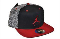 Cappello Berretto hat snapback JORDAN JUMPMAN AIR TRUCKE 589014 011 black  red 4870b12c944b