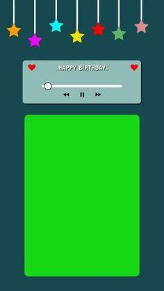 Birthday Wishes Songs, Happy Birthday Quotes For Friends, Happy Birthday Posters, Happy Birthday Wallpaper, Birthday Wishes For Friend, Happy Birthday Template, Happy Birthday Video, Birthday Post Instagram, Overlays Instagram