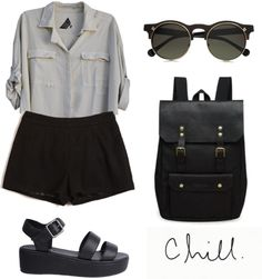 """casual chic"" by hightowngirl ❤ liked on Polyvore"