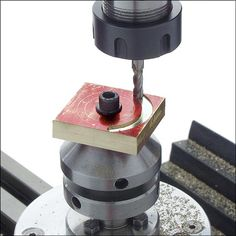 Rotary Table Accessories and Tips Cnc Lathe, Lathe Tools, Metal Working Tools, Metal Tools, Milling Machine, Machine Tools, Metal Lathe Projects, Diy Router, Metal Processing