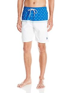 da0169aa Beach U.S. Polo Assn. Mens Peached Microfiber Swim Short, 4602-China Blue,  L ** This is an Amazon Associate's Pin. Find the item on the website by  clicking ...