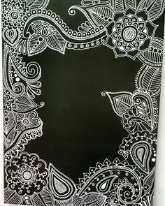 Check out this item in my Etsy shop https://www.etsy.com/listing/278034190/art-painting-henna-on-canvas-decor