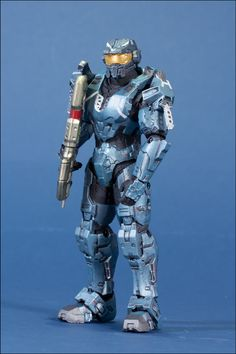 The Package Halo Legends action figure 3 pack