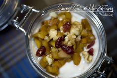 Overnight Oats, Fruit Salad, Oatmeal, Breakfast, Food, Cinnamon, Apple, Breakfast Cafe, Essen