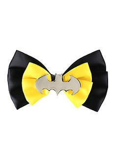 Fight crime without a hair outta place // DC Comics Batman Cosplay Hair Bow