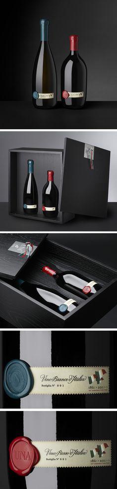 UNA Wine by Cibicworkshop..love the simplicity