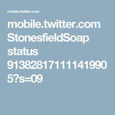 mobile.twitter.com StonesfieldSoap status 913828171111419905?s=09