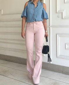 Closet Lit: Jeans Flare Rose! #closetlit