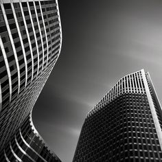Architectural Photography :: Joel Tjintjelaar.    I love Black and White photography because with the removal of color the essence of objects, situations, scenery and people become more visible. They become more visible because it's up to you what you do with contrasts, light, shapes and lines to emphasize the essence, or what you see as the essence – no colors that will seduce the eye, only emotion that will capture the heart.