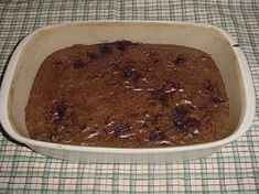 Chocolate Chip Brownies    1 stick butter, melted  1 cup rapadura  1/4 cup cocoa powder  1 egg  1 t. vanilla  3/4 cup whole wheat flour  1/2 cup homemade chocolate chips (chunks)