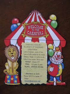 Carnival Birthday Party! Invitation