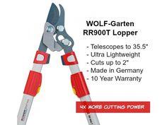 Golden Shovel Award winning lopper from WOLF-Garten. RR900T