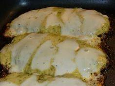Gluten Free Chicken Parmesan with Basil Pesto Sauce
