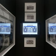 The Boom Box by @lyleowerko for the @thedeancollection @scopeartshow @therealswizzz. #artbasel