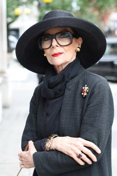 ADVANCED STYLE documentary about older women and their views on aging, fashion, beauty and life