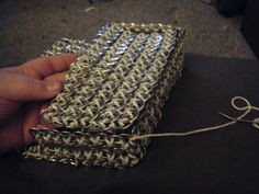 Pop Tab Purse Tutorial - Step 19