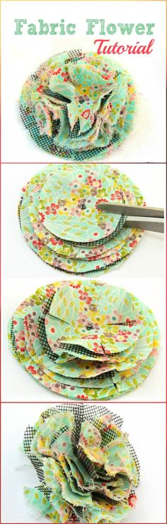 fluffy fabric flowers by crafting in the rain on iheartnaptimecomFluffy Fabric Flower {Hello Summer} - I Heart Nap TimeFluffy Fabric Flowers that uses a window screen as a secret ingredient.Fluffy Fabric Flower {Hallo Sommer – Make Your FlowersYou Felt Flowers, Diy Flowers, Paper Flowers, Cloth Flowers, Flower Diy, Easy Fabric Flowers, Fabric Flower Brooch, Fabric Scraps, Arts And Crafts