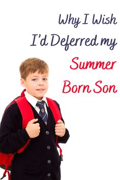 We were on the fence about trying for deferred entry to reception for our son, here's why in hindsight, we wish we had deferred our summer born son Educational Activities, Learning Resources, Hindsight, Parenting Fail, How I Feel, Fence, Wish, Real Life, Sons