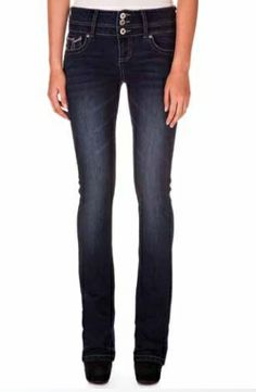 Dark Rinse Straight leg Denim
