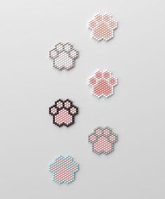 peyote brooch pattern peyote pattern odd count stitch pattern pdf file pdf pattern NO WORD CHART Bead Embroidery Patterns, Hama Beads Patterns, Beaded Jewelry Patterns, Peyote Patterns, Weaving Patterns, Art Patterns, Painting Patterns, Bead Crochet Patterns, Mosaic Patterns