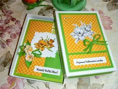 Kika's Designs : Daffodils on Easter Card