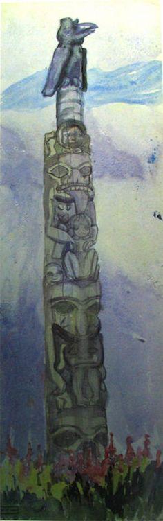 Untitled [Skedans, Queen Charlotte Islands]. 1912 Emily Carr kK