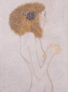 Gustav Klimt - Die Leiden der schwachen Menschen. 1902