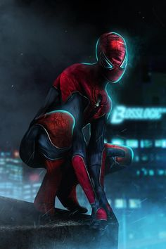 #Spiderman #Fan #Art. (Spiderman Costume idea for new movie) By: BossLogic.