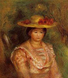 Bust of a Woman (Gabrielle) - Pierre-Auguste Renoir