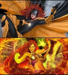 Batgirl/Starfire