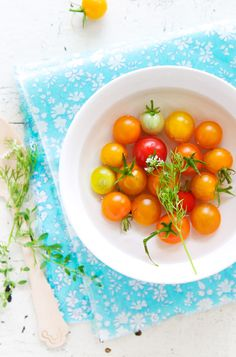 Da freu ich mich schon auf meine Balkontomaten > The things about summer | La Tartine Gourmande