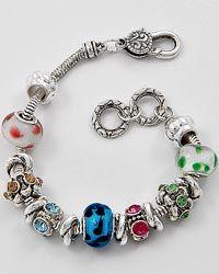 Pandora Style Charm Bracelet...$31
