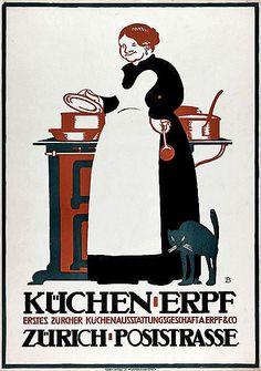 A. Erpf & Co. advertising poster byOtto Baumberger (1913)