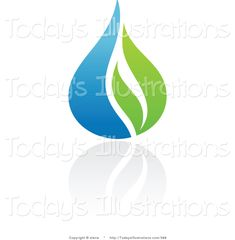 Clipart of a Blue and Green Organic and Ecology Water Drop and Leaf Logo Design or App Icon of drink water water aesthetic water clipart water funny water meme water motivation water quotes farming quotes Water Drop Logo, Water Logo, Water Quotes, Water Aesthetic, Blue And Green, Plumbing Problems, Green Organics, Luxury Logo, Leaf Logo
