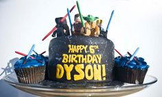 Lego Star Wars Cake And Cupcakes
