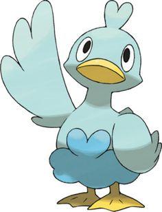 Ducklett Pokédex: stats, moves, evolution & locations   Pokémon Database