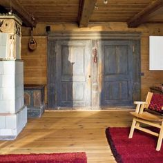 Old, wooden cabin from 1801 covered with the thatch; Wooden Cabins, Piece, Poland, Country, Furniture, Interiors, Home Decor, Ideas, Decoration Home