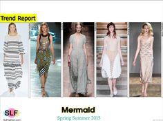 Fashion as an Art Form: Ocean Mermaid. Marine Life Trend for Spring Summer 2015. Temperley London, Rodarte Valentino, Simone Rocha, and Jenny Packham #Spring2015 #SS15