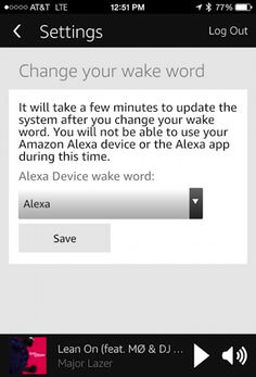 "Got an Amazon Echo and don't like ""Alexa"" as the wake word? Turns out you can change it. Sort of."