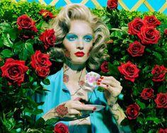 Miles Aldridge - Roses Magic