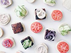 ... Tempeh, Tofu, Fresh Rolls, Quinoa, Hamburger, Ethnic Recipes, Desserts, Burgers, Salt