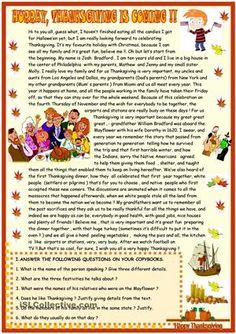 26 Ideas De Thanksgiving Actividades Actividades De Ingles Profesores De Inglés