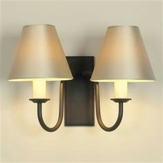 Double Gosford Wall Light made by Jim Lawrence Indoor Wall Lights, Ceiling Lights, Contemporary Classic, Modern, Lounge Decor, Iron Wall, Light Fixtures, Sconces, Lighting
