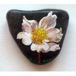 Flower inspiration   Stones Rocks Pebbles Art by Poniklec slovenský