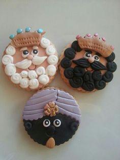 Los Reyes Magos #navidad #galletas